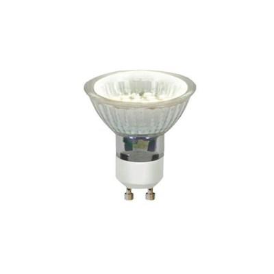 Лампа светодиодная (04009) Uniel GU10 1,5W 2700-3200K прозрачная LED-JCDR-SMD-1,5W/WW/GU10 95 Lm - фото 620529