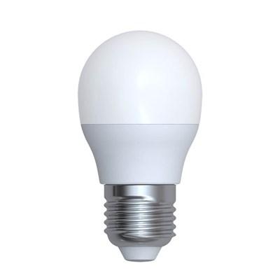 Лампа светодиодная (UL-00006533) Uniel E27 6W 4000K матовая LED-G45-6W/4000K/E27/FR/RA95 PLK01WH - фото 620531