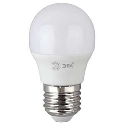 Лампа светодиодная ЭРА E27 10W 6500K матовая P45-10W-865-E27 R Б0045355 - фото 620617