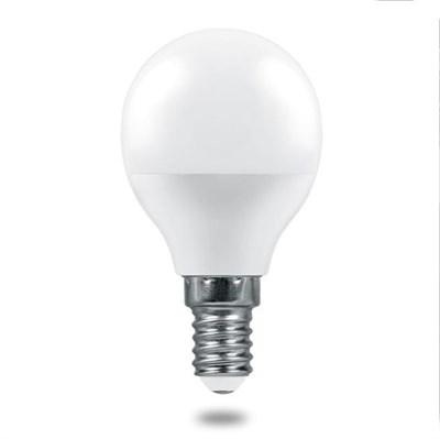 Лампа светодиодная Feron E14 6W 2700K Матовая LB-1406 38065 - фото 620812