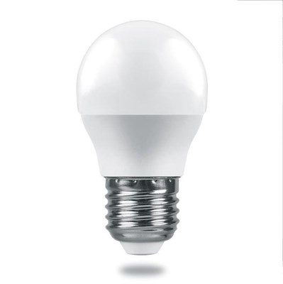 Лампа светодиодная Feron E27 6W 4000K Матовая LB-1406 38069 - фото 620845
