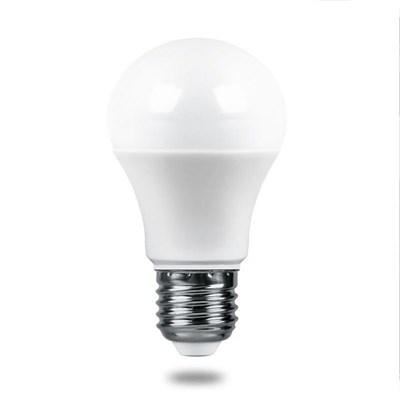Лампа светодиодная Feron E27 9W 6400K Матовая LB-1009 38028 - фото 620861