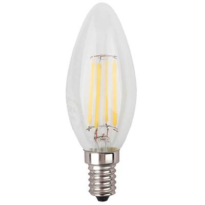 Лампа светодиодная ЭРА E14 9W 2700K прозрачная F-LED B35-9w-827-E14 Б0046991 - фото 620892