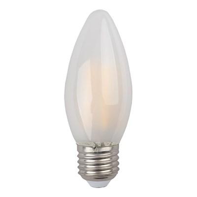 Лампа светодиодная ЭРА E27 9W 4000K матовая F-LED B35-9w-840-E27 frost Б0046998 - фото 620930