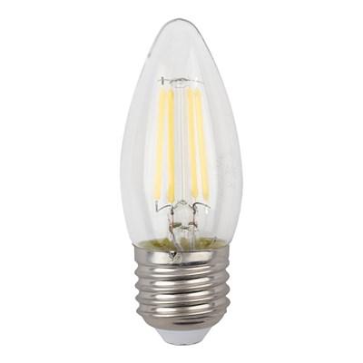 Лампа светодиодная ЭРА E27 9W 4000K прозрачная F-LED B35-9w-840-E27 Б0046997 - фото 620933