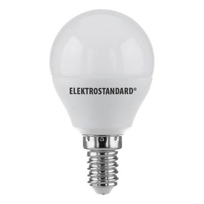 Лампа светодиодная Elektrostandard E14 7W 6500K матовая 4690389041556 - фото 620950