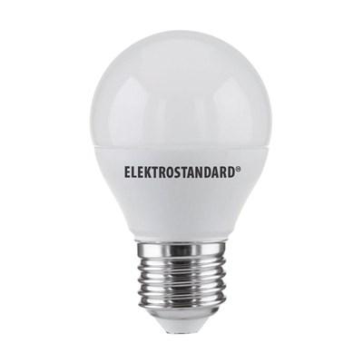 Лампа светодиодная Elektrostandard E27 7W 3300K матовая 4690389055256 - фото 620961