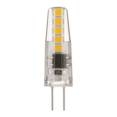 Лампа светодиодная Elektrostandard G4 3W 3300K прозрачная 4690389051692 - фото 621030