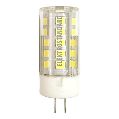 Лампа светодиодная Elektrostandard G4 5W 4200K прозрачная 4690389051739 - фото 621034