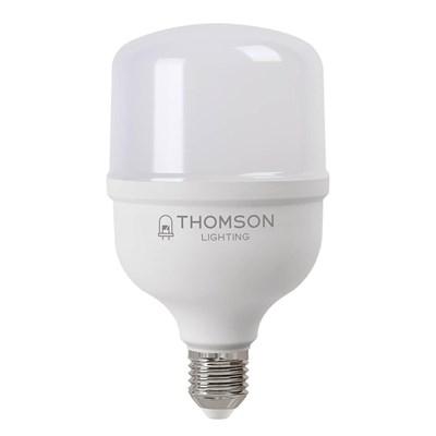 Лампа светодиодная Thomson E27 50W 6500K цилиндр матовая TH-B2366 - фото 621278