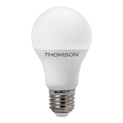 Лампа светодиодная Thomson E27 5W 3000K груша матовая TH-B2097 - фото 621282