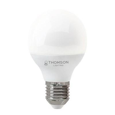 Лампа светодиодная Thomson E27 6W 4000K шар матовая TH-B2038 - фото 621300