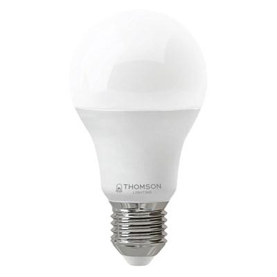 Лампа светодиодная Thomson E27 9W 6500K груша матовая TH-B2302 - фото 621352