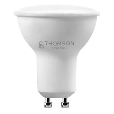 Лампа светодиодная Thomson GU10 4W 6500K полусфера матовая TH-B2325 - фото 621374