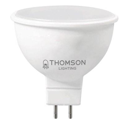 Лампа светодиодная Thomson GU5.3 10W 3000K полусфера матовая TH-B2049 - фото 621398