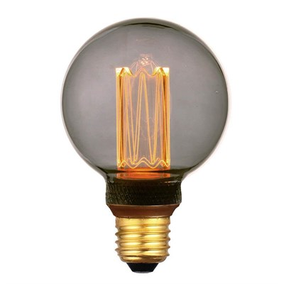 Лампа светодиодная Hiper E27 4W 1800K дымчатая HL-2221 - фото 621503