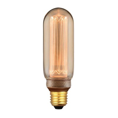 Лампа светодиодная Hiper E27 4W 1800K янтарная HL-2237 - фото 621521