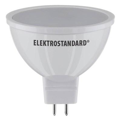 Лампа светодиодная Elektrostandard G5.3 5W 6500K матовая 4690389151590 - фото 621575