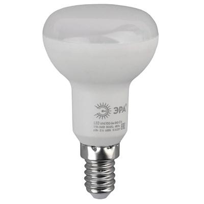 Лампа светодиодная ЭРА E14 6W 6000K матовая LED R50-6W-860-E14 Б0048023 - фото 621586