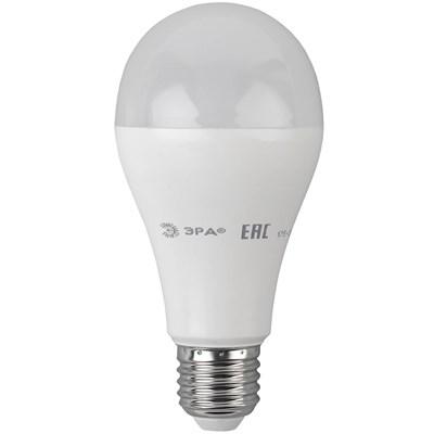 Лампа светодиодная ЭРА E27 19W 4000K матовая LED A65-19W-840-E27 Б0050282 - фото 621597