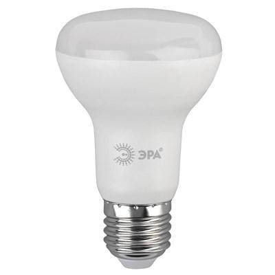 Лампа светодиодная ЭРА E27 8W 4000K матовая ECO LED R63-8W-840-E27 Б0050299 - фото 621625