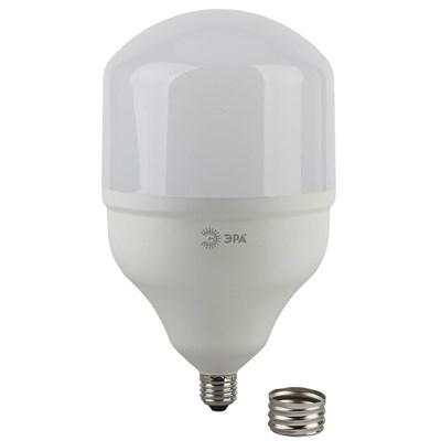 Лампа светодиодная ЭРА E27/E40 65W 4000K матовая LED POWER T160-65W-4000-E27/E40 Б0049586 - фото 621631