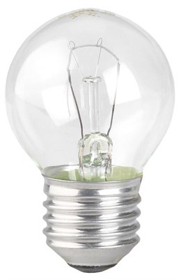 Лампа накаливания ЭРА E27 60W 2700K прозрачная ДШ 60-230-Е27 (гофра) Б0039135 - фото 621742