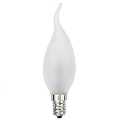 Лампа галогенная (01082) Uniel E14 42W матовая HCL-42/FR/E14 flame - фото 621820
