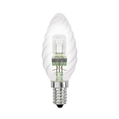 Лампа галогенная (04113) Uniel E14 42W прозрачная HCL-42/CL/E14 candle twisted - фото 621828