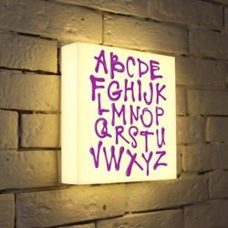 Лайтбокс Alphabet 25x25-003