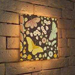 Лайтбокс Бабочки 25x25-009