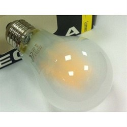 Лампа светодиодная LBT 60480  E27 Груша(лон) матовый 6W A60 E27  2600K 220-240V