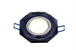 Встраиваемый светильник LBT D0801-3  GU5.3 черный(black)