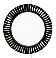 Встраиваемый светильник LBT GX5382-3  GX53 черный(black)