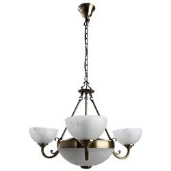 Подвесная люстра Arte Lamp Windsor White A3777LM-3-2AB