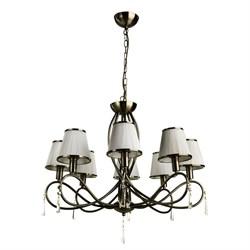 Подвесная люстра Arte Lamp Logico A1035LM-8AB
