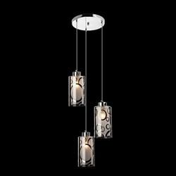 Подвесной светильник Eurosvet 50000/3 хром