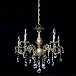 Подвесная люстра MW-Light Свеча 24 301017605