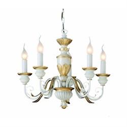 Подвесная люстра Ideal Lux Firenze Sp5 Bianco Antico 012865
