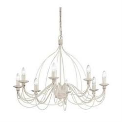 Подвесная люстра Ideal Lux Corte SP8 Bianco Antico 005898