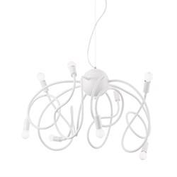Подвесная люстра Ideal Lux Multiflex SP8 Bianco 141893