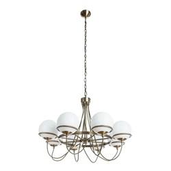 Подвесная люстра Arte Lamp Bergamo A2990LM-8AB
