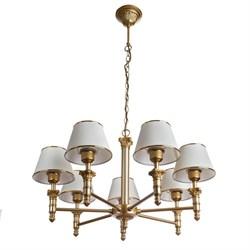 Подвесная люстра Arte Lamp Liguria A9185LM-7SG