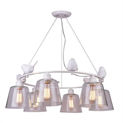 Подвесная люстра Arte Lamp Passero A4289LM-6WH
