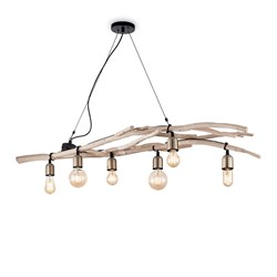 Подвесная люстра Ideal Lux Driftwood SP6 180922