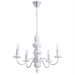 Подвесная люстра Arte Lamp A6062LM-5WH