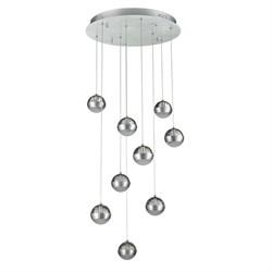 Подвесная светодиодная люстра De Markt Капелия 730010209