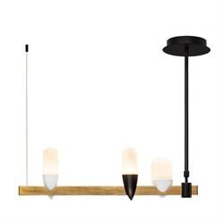 Подвесная светодиодная люстра Loft IT Whisper 1028-3BL