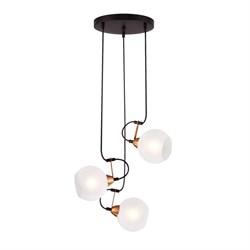 Подвесной светильник Eurosvet 50175/3 черный