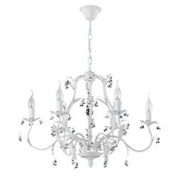 Подвесная люстра Crystal Lux CRISTINA SP6 WHITE